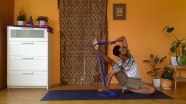 A|Day 7 - Water Flow 2 - Full Vishwamitrasana